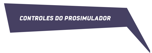 Controles do Prosimulador